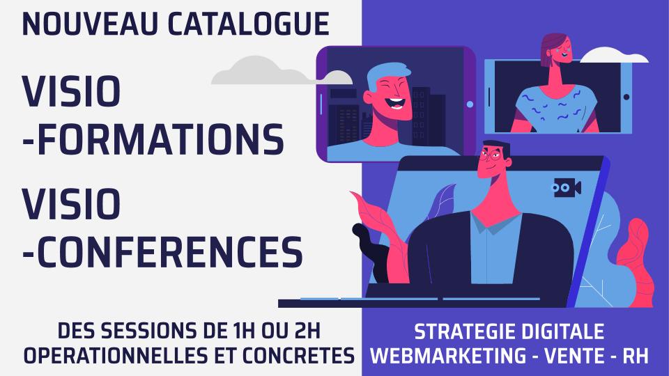 Visioformations Visionconférences stratégie digitale